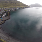 Fuglafjørður úr luftini